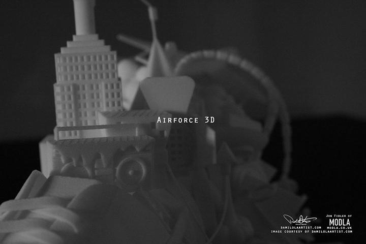 Nike Air Force 3D print scultpure Damilola Odusote Jon Fidler 004