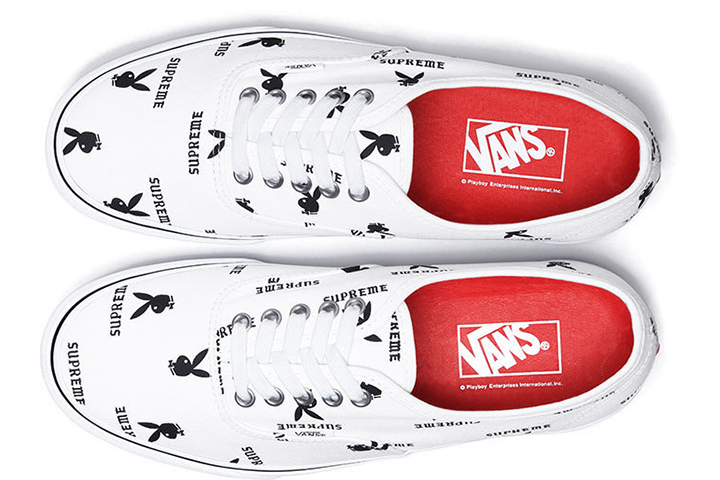 Supreme Playboy Vans Authentic 006