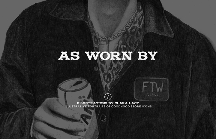 Goodhood As Worn By illustrated lookbook Clara Lacy 001