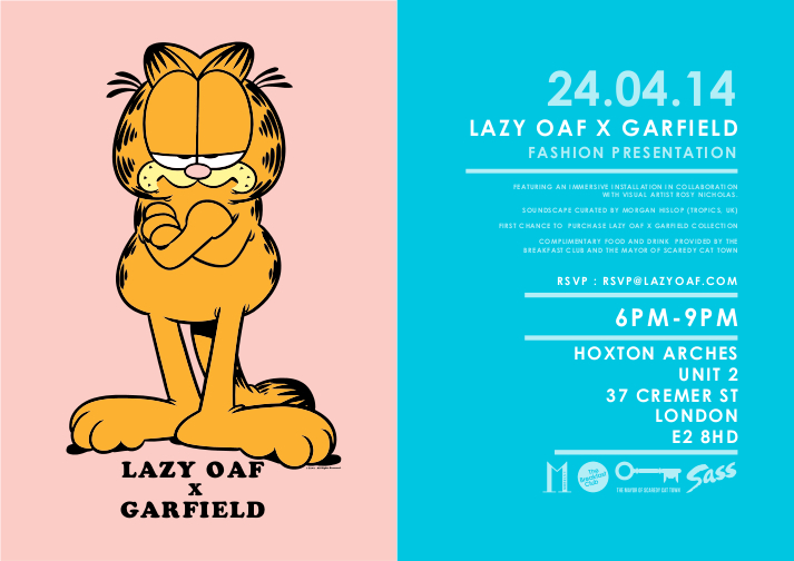 Lazy-Oaf-x-Garfield-Mens-Collection-Launch