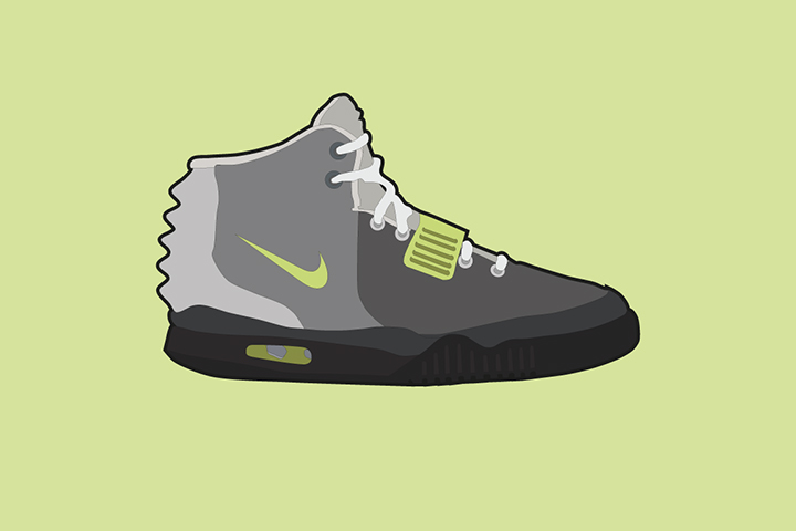 Nike Air Yeezy II Air Max Colourways The Lime Bath The Daily Street 004