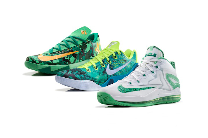 Nike Basketball Easter Collection LeBron 11 Low Kobe 9 EM KD VI 001