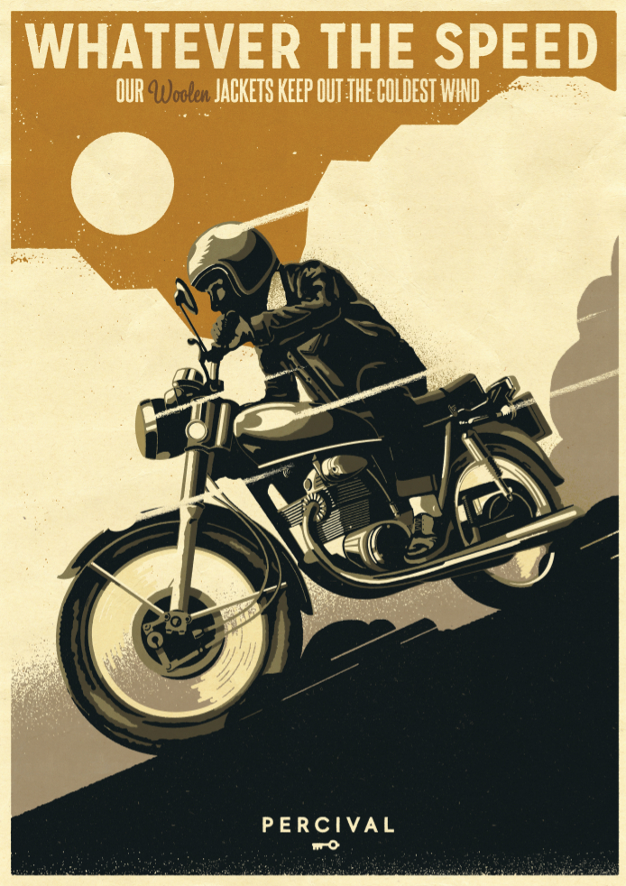 Percival-SS14-Poster-Hunt-Bike