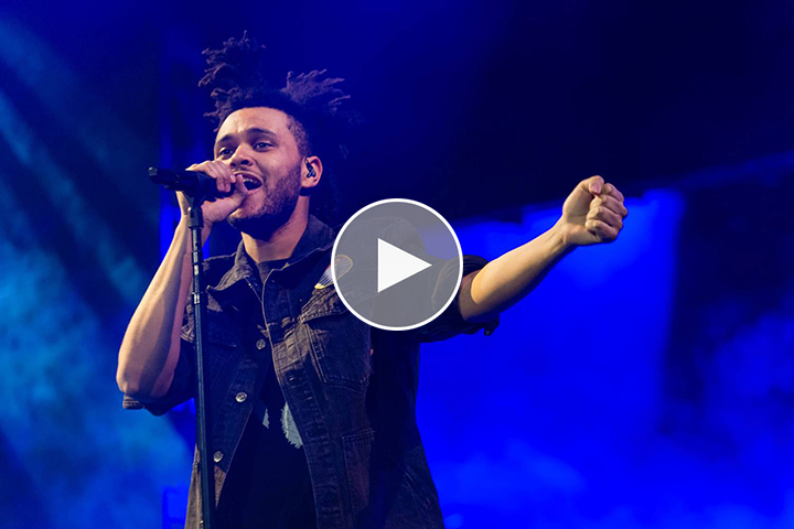 Video-The-Weeknd-O2-Arena-London