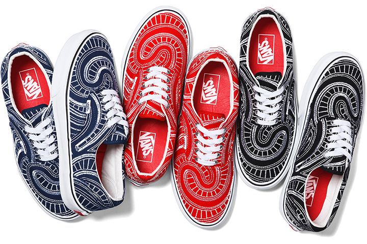 Supreme Vans Spring 2014 collection Era 001
