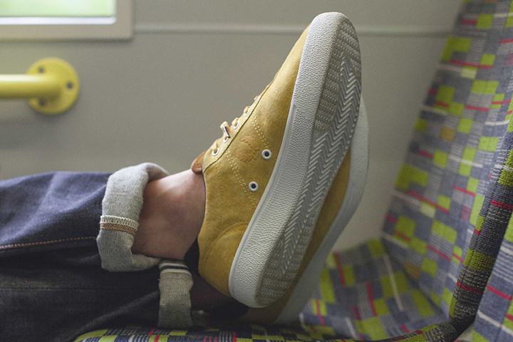 Fred Perry 1934 re-issue footwear collection Hanon