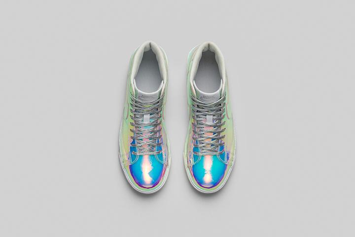 Nike Blazer Mid Premium QS Iridescent Womens 004