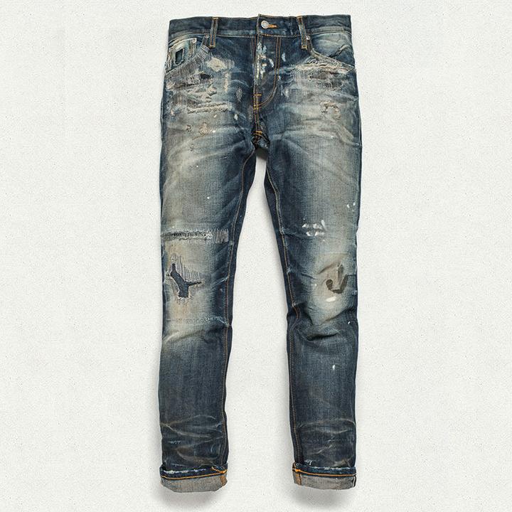 Nudie Jeans Grim Tim Stone Mason Replica 003