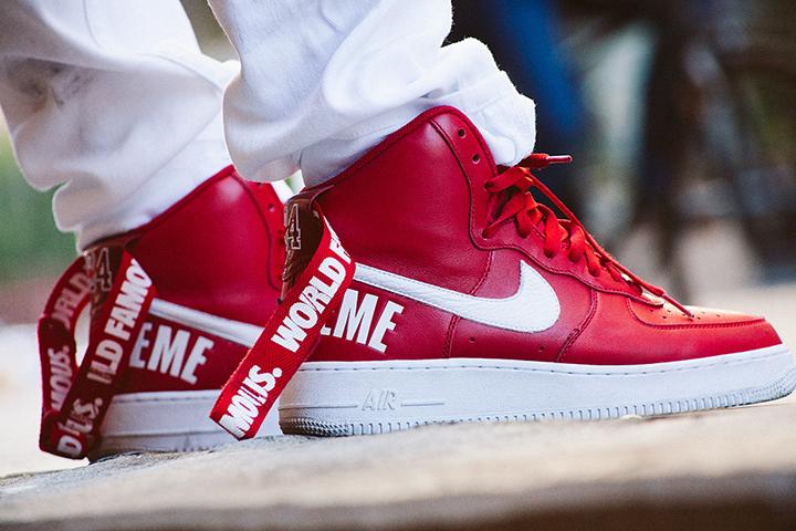 Supreme Nike Air Force 1 Hi 2014 01