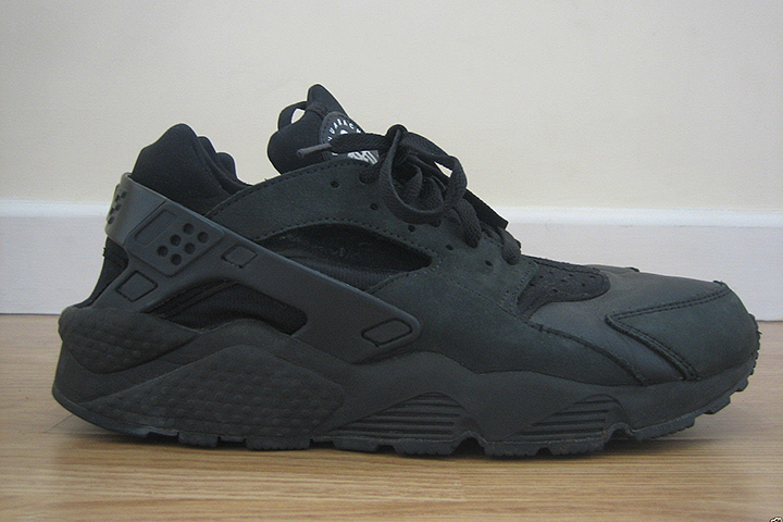 10 best Nike Air Huarache colourways of all time by Crepe City for The Daily Street Triple Black
