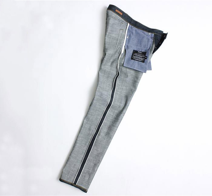 albam limited edition pink selvedge denim jeans 03
