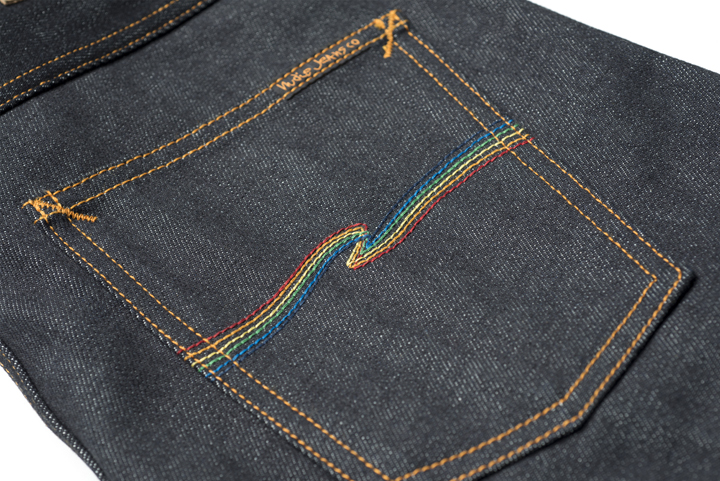 Oi Polloi Nudie Jeans Grim Tim Dry Rainbow 01