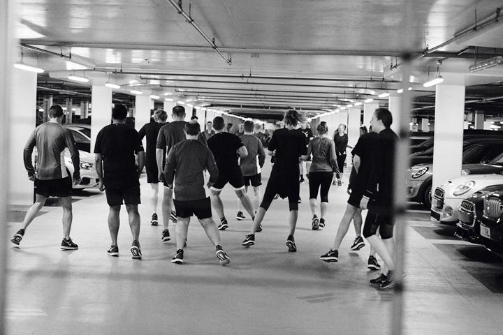 Nike Milers launch London Hyde Park 07