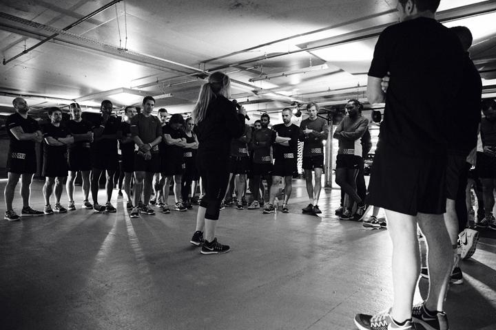 Nike Milers launch London Hyde Park 08