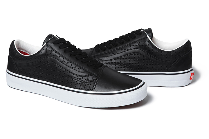 Supreme Vans Old Skool Perforated Leather pack 03