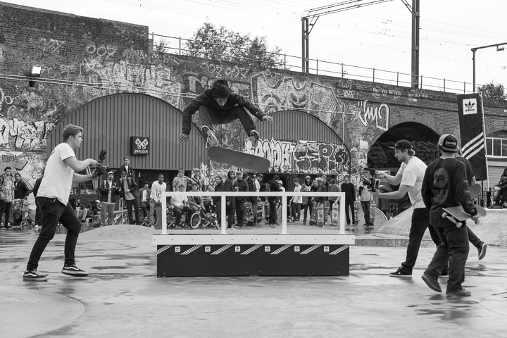 Recap adidas Skateboarding BOOST THE BAR Mile End London-2