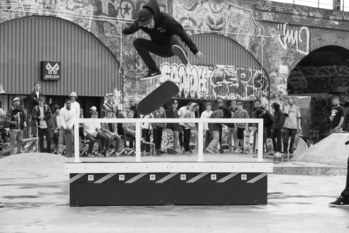 Recap adidas Skateboarding BOOST THE BAR Mile End London-5