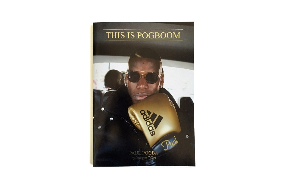 Paul Pogba by Jürgen Teller_ ZINE (1)