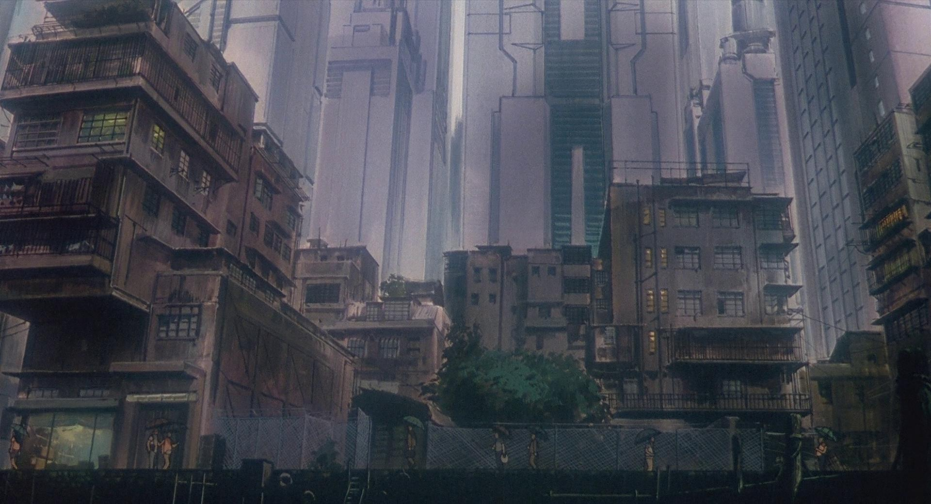 Cat Anime Wallpaper Ghost In The Shell Must Be The Most Detailed Animated