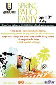 Urban Taco Spring Patio Party