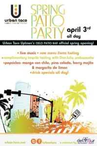 Urban Taco Spring Patio Party