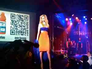 Thirst for Fashion: Vitaminwater Runway Show