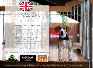 Royal Wags Pawty benefiting Paws in the City