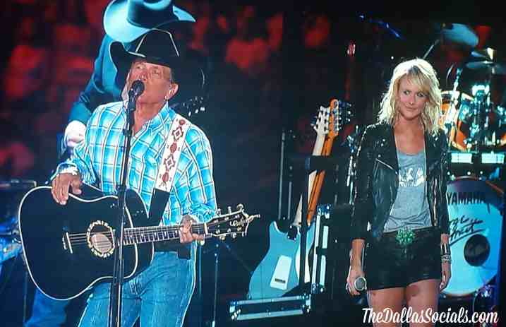 Miranda Lambert and George Strait - Dallas tX - Verizon Wireless