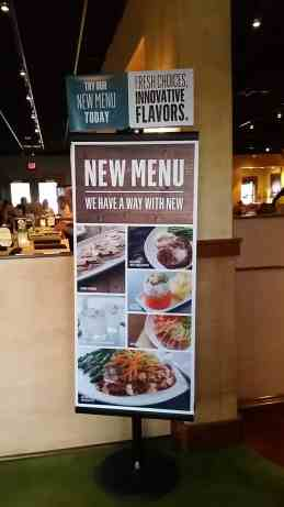 Bonefish Grill New Menu