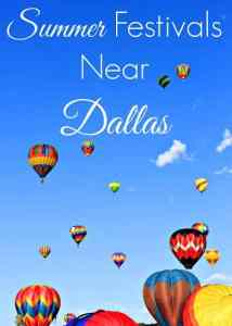 Summer Festivals Near Dallas