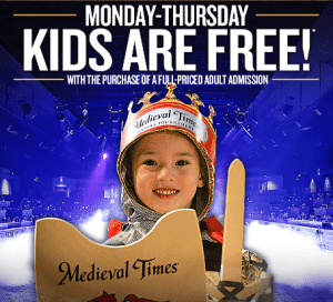 Experience the Excitement this Summer at Medieval Times
