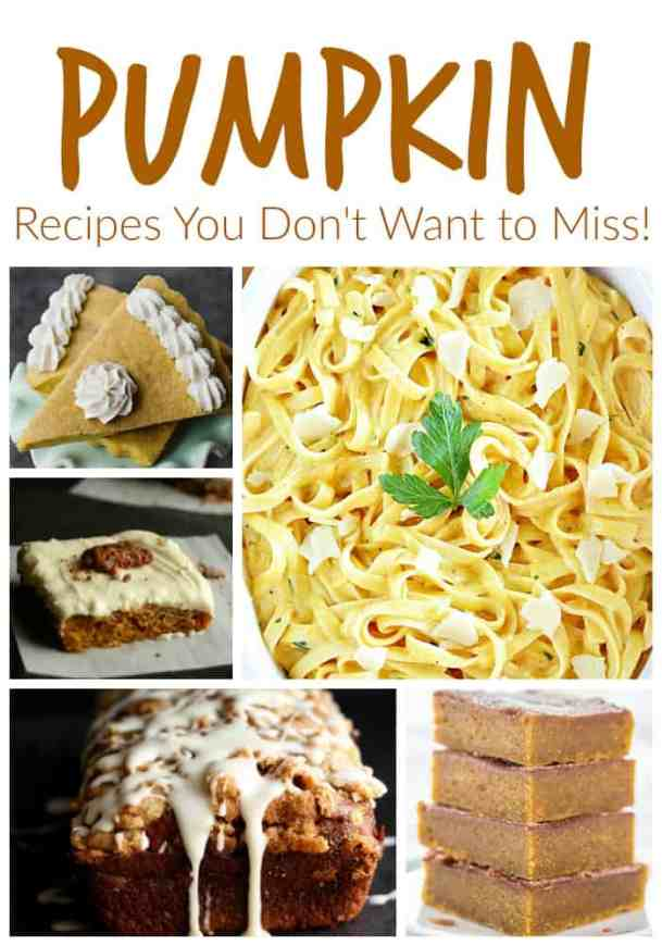 Pumpkin Recipes You DOn't Want to Miss