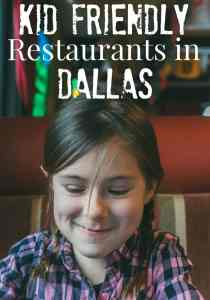 Kid Friendly Restaurants in Dallas
