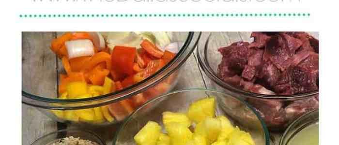 Ham & Pineapple Hawaiian Kabobs
