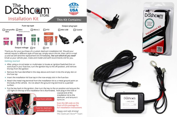 Dashcam Installation Instructions Dash Cam Hardwire How-To Guide