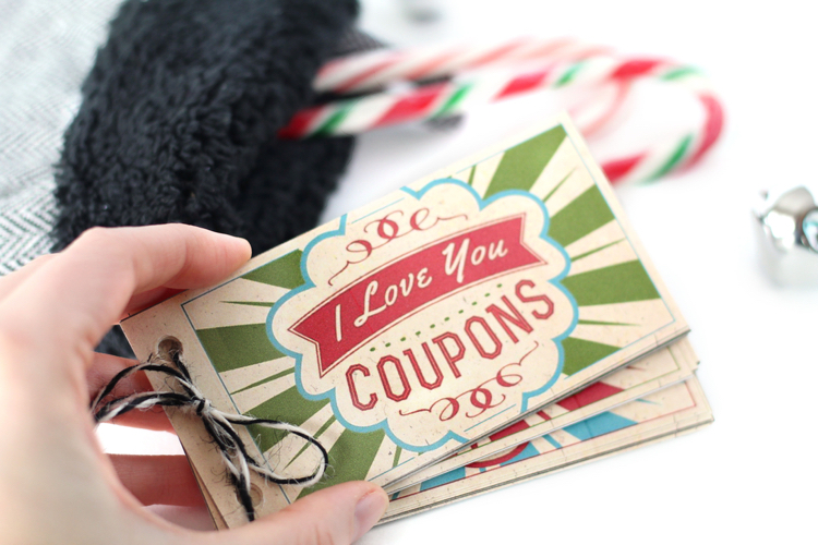 Stocking Stuffer Christmas Coupons Gift - From The Dating Divas