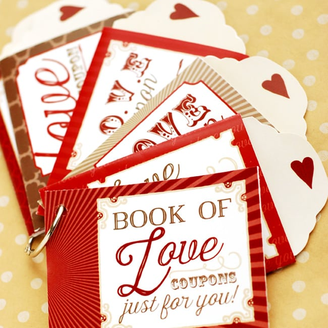 DIY Love Coupons - homemade coupons for boyfriend ideas