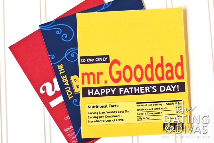 FREE Father\u0027s Day Candy Bar Wrappers - The Dating Divas