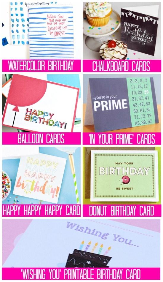 101 Free Birthday Printables - The Dating Divas
