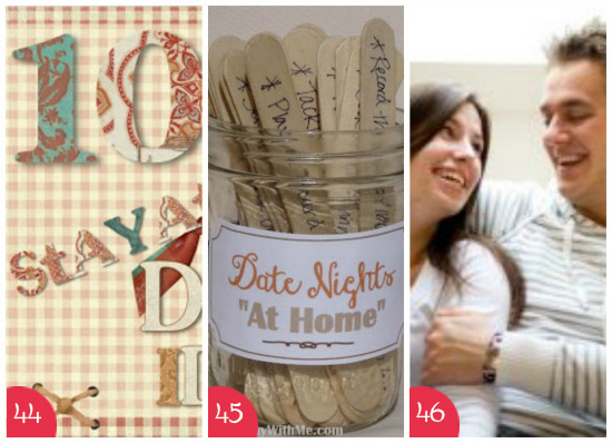 101 Date Idea Round-Ups The ULTIMATE Date Night List - at home date ideas