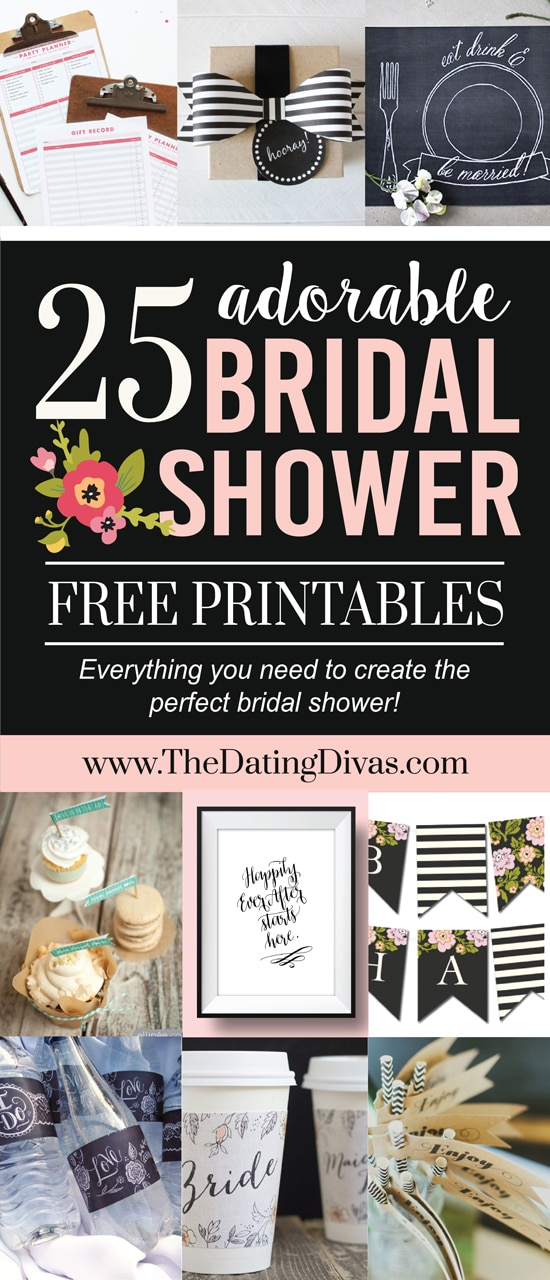 Over 100 Bridal Shower Ideas - from The Dating Divas