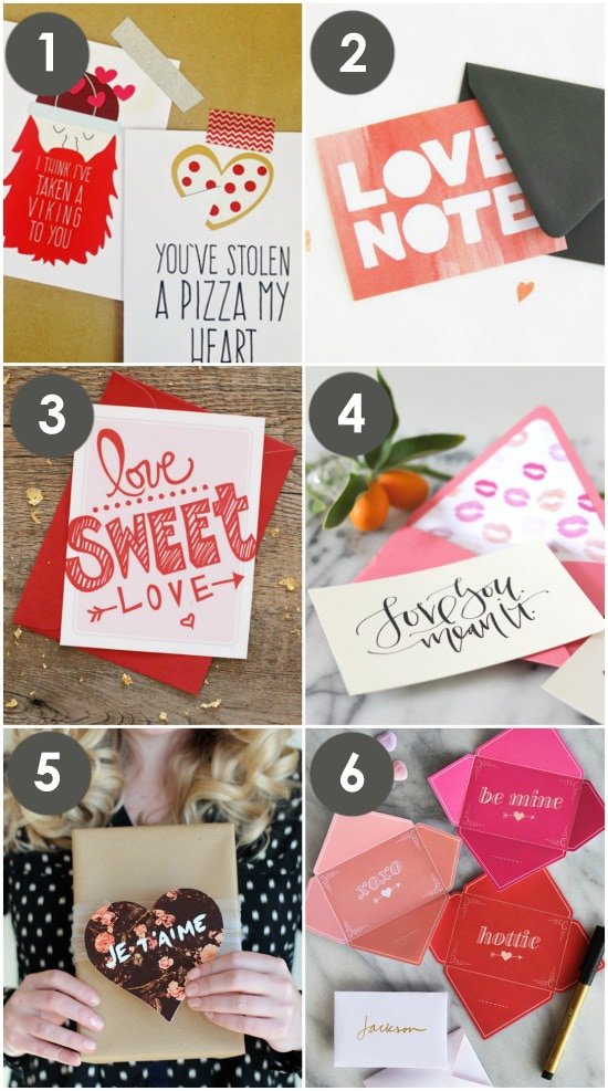 100+ Free Printable Love Notes for Him - The Dating Divas