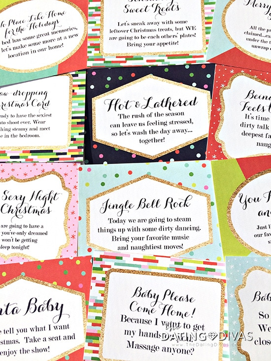 Sexy Christmas Coupons Countdown - From The Dating Divas