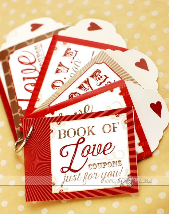 DIY Love Coupons - Coupon Book Printing