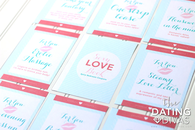 Valentine\u0027s Day Sexy Love Book of Coupons - From The Dating Divas
