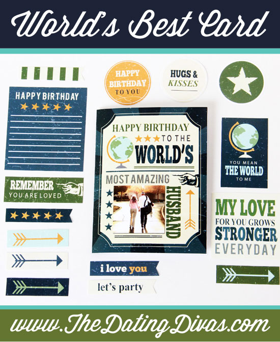 Printable Birthday Cards for Your Husband - from The Dating Divas