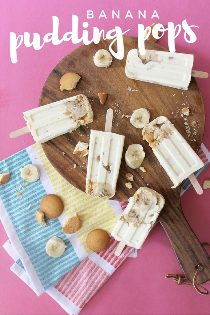 These Banana Pudding Pops are a perfect way to beat the summer heat with all the nostalgia you can stand! Combine your favorite treat of pudding pops with the nostalgic memories of grandma's banana pudding.