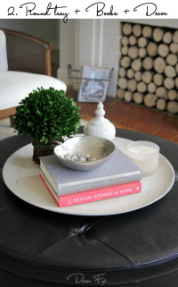 how to decorate a round coffee table   Roselawnlutheran