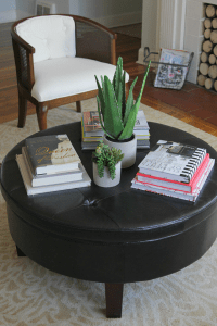 How To Decorate A Round Coffee Table   how to style a ...