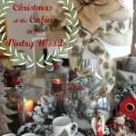 Christmas at the Cabin in the Wintry Woods